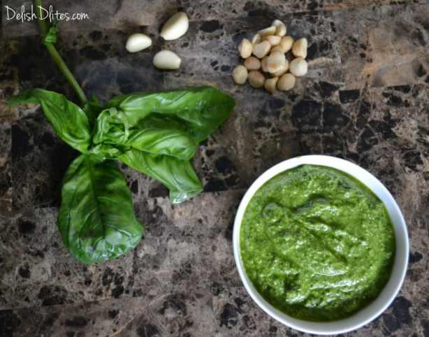 Macadamia Nut Pesto | Delish D'Lites