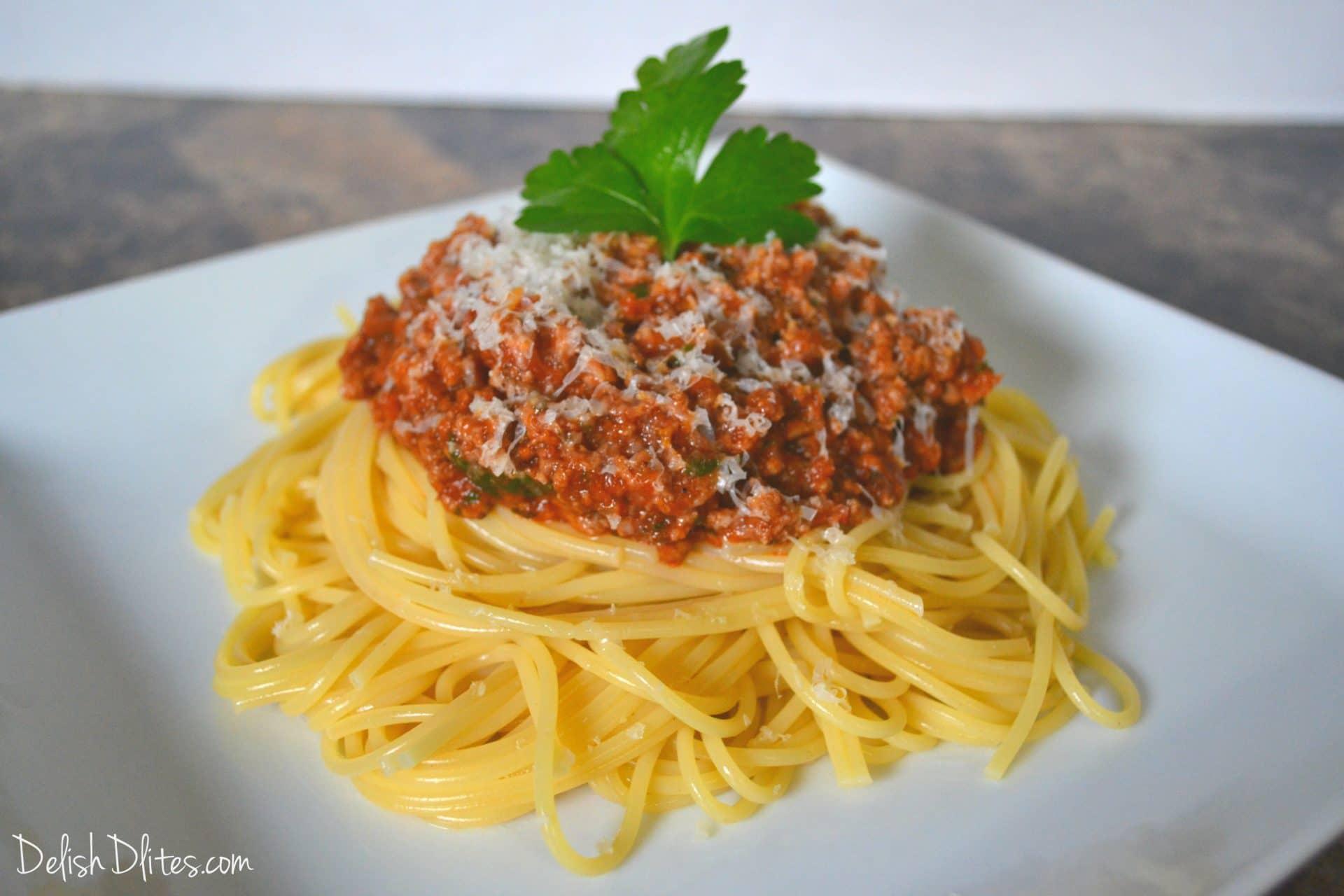 Indian Spaghetti Recipe