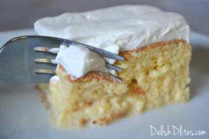Tres Leches Cake | Delish D'Lites