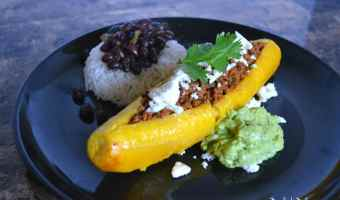Canoas (Stuffed Sweet Plantains)