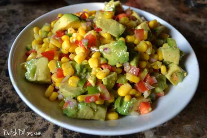 Summer Corn Salad | Delish D'Lites