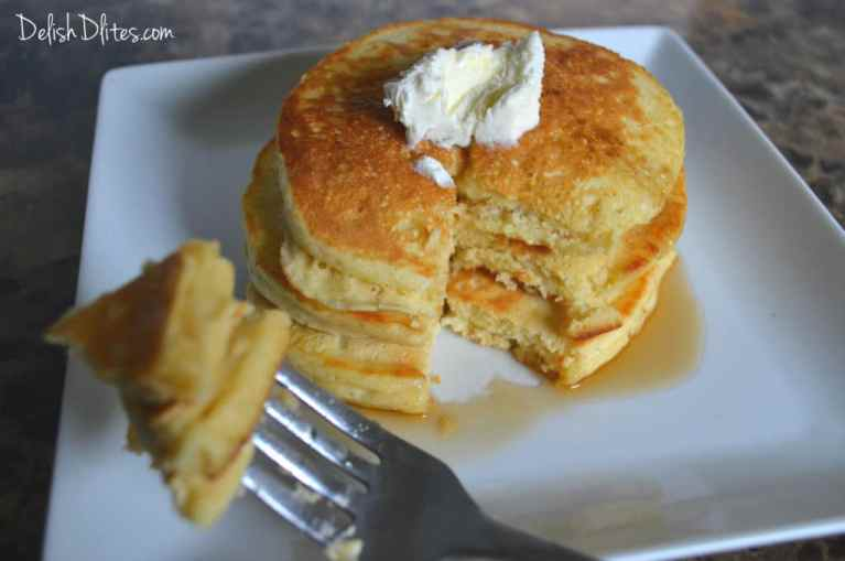 Easy Homemade Pancakes | Delish D'Lites