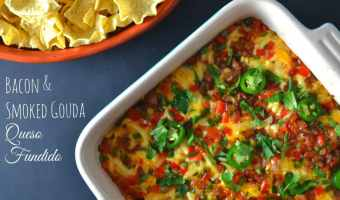Bacon & Smoked Gouda Queso Fundido