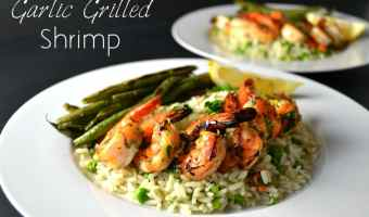 Garlic Grilled Shrimp
