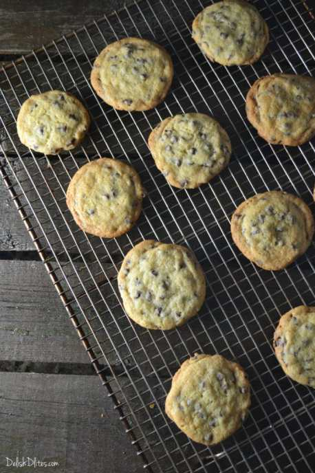 Classic Chocolate Chip Cookies | Delish D'Lites
