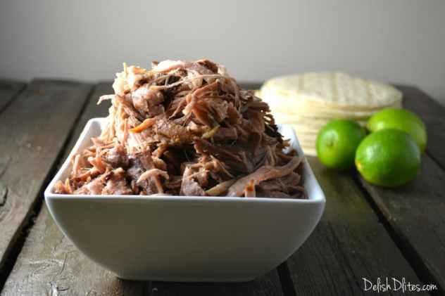Slow Cooker Carnitas | Delish D'Lites
