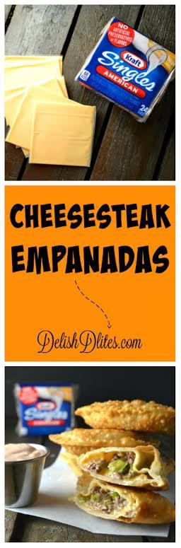 Cheesesteak Empanadas | Delish D'Lites