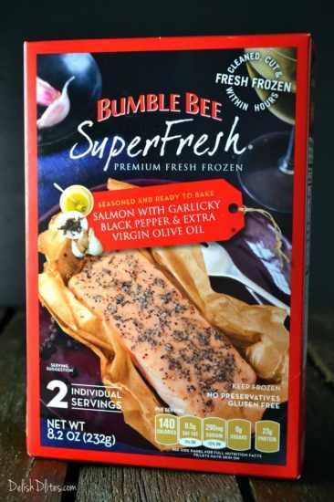 Salmon Asparagus Fettuccine Alfredo | Delish D'Lites