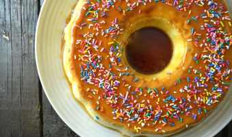 Sugar Cookie Flan (Flan de Galleta de Azucar)