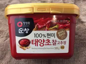 Gochujang Korean hot pepper suace
