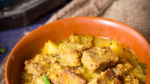 Dhokar Dalna (no onion no garlic)