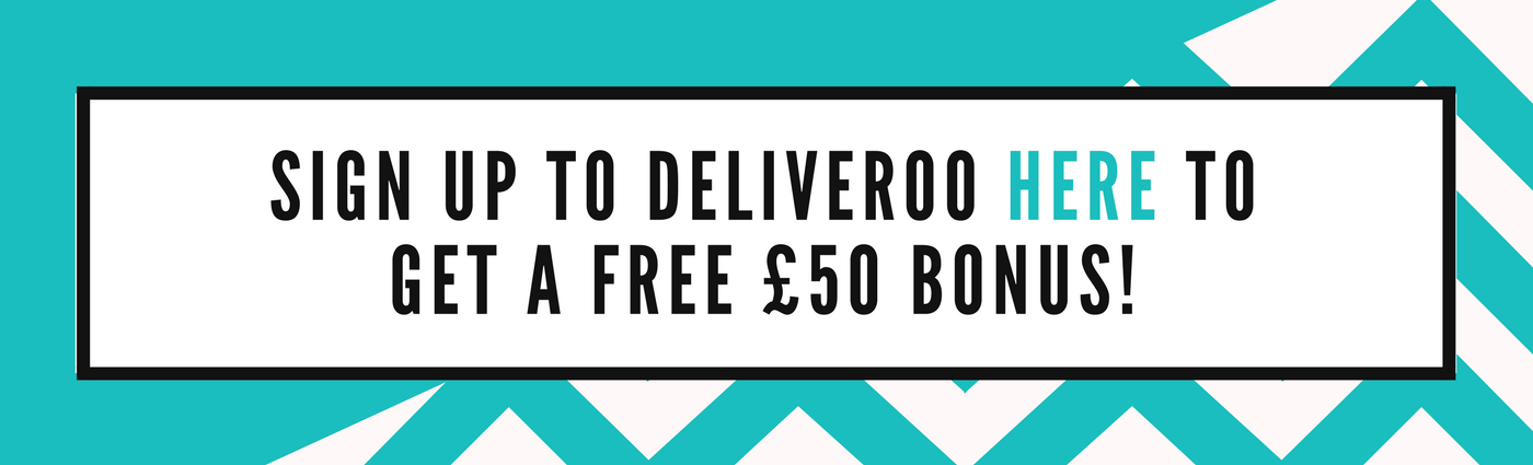 Deliveroo delivery