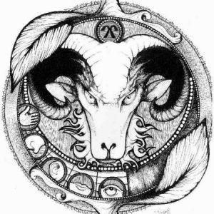 Aries y las yeguas devora hombres - Hércules