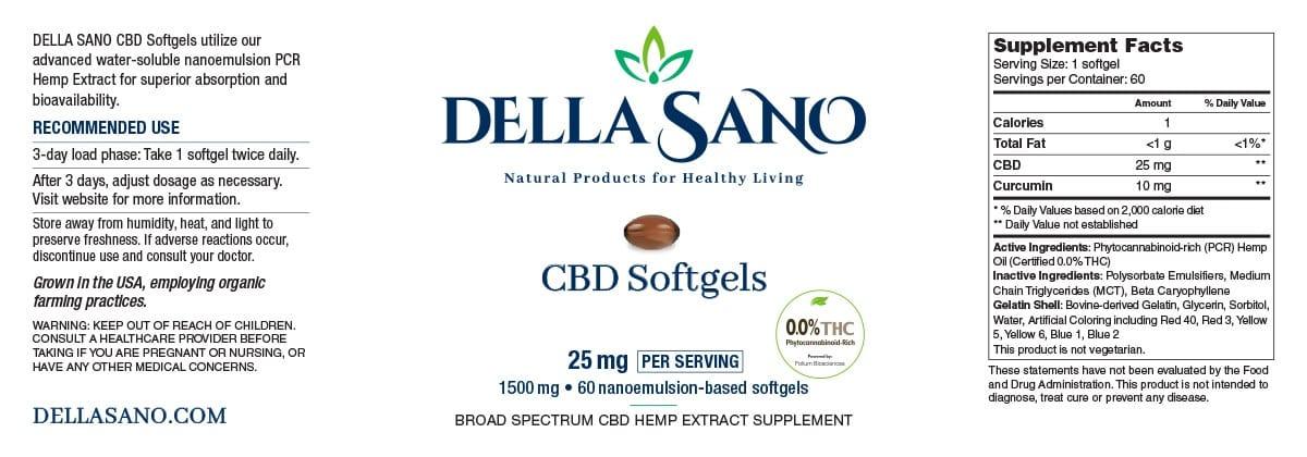 natural product CBD Softgels
