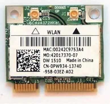 Download Driver: Dell Wireless 1708 Broadcom WLAN
