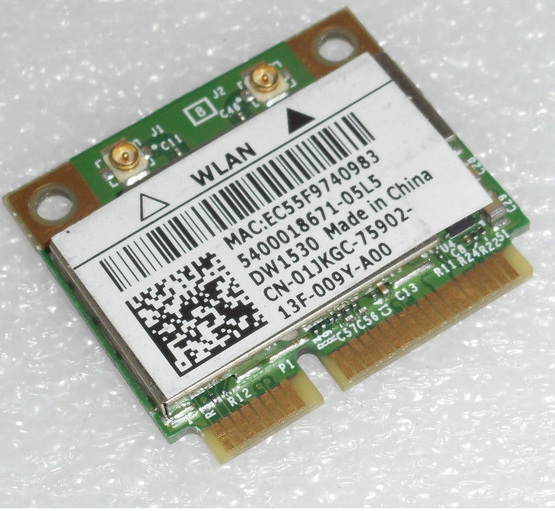 DELL WIRELESS 1490 DUAL BAND WLAN MINICARD DRIVER FOR PC