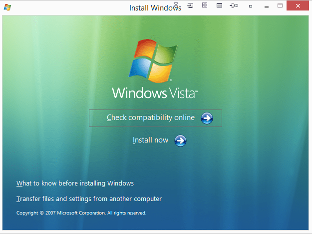 windows vista home basic oemact hp