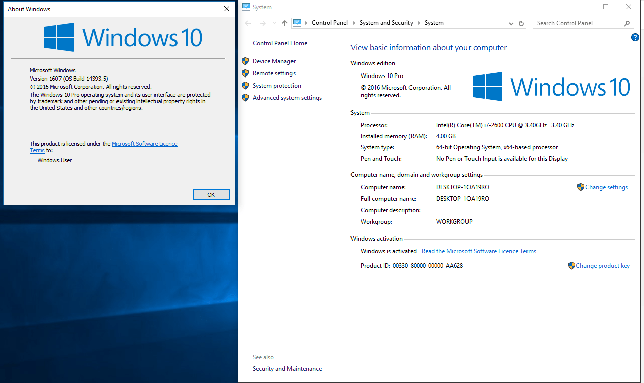 Enjoyable Windows 10 Version 1607 Download Windows 10 As A Windows Home Interior And Landscaping Spoatsignezvosmurscom