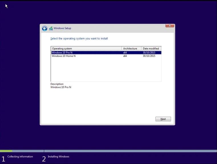 Windows 10N iso