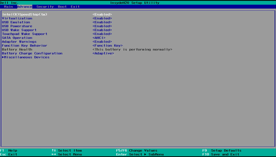Unified Extensive Firmware Interface (UEFI) SMBIOS 2 7-2 9