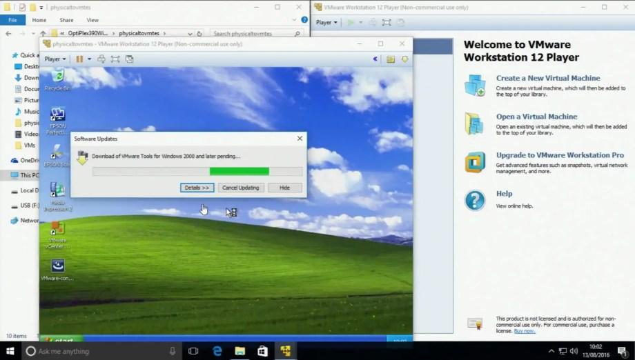windows xp vm image download
