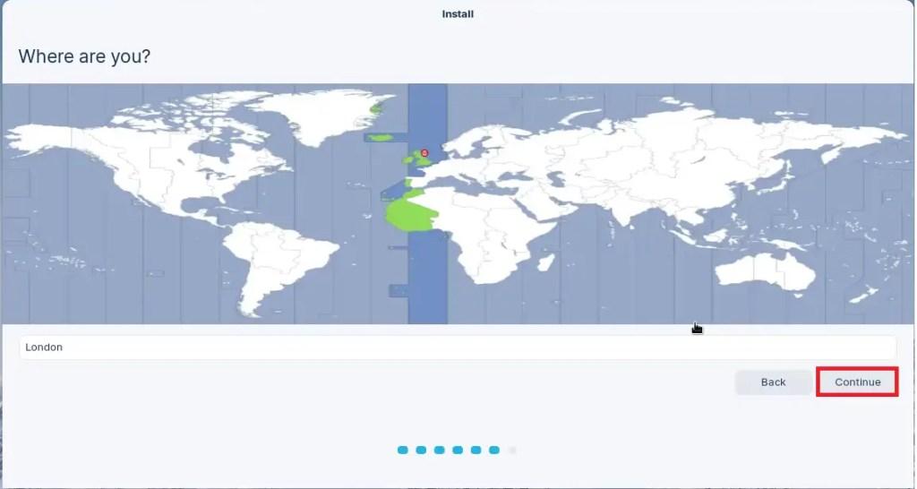 Zorin OS Install Location.