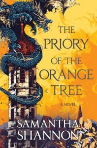 The Priory of the Orange Tree by Samantha Shannon Book Cover.
