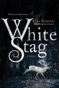 White Stag, Young Adult Fantasy Book, Book Cover