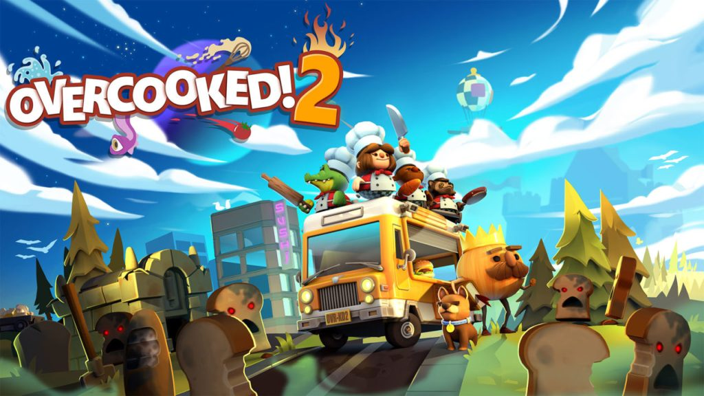 Overcooked 2. Nintendo Switch Game.