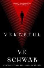 Vengeful by V.E. Schwab book cover
