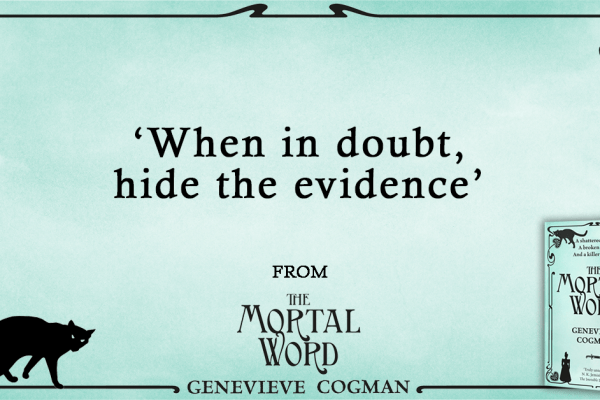 The Mortal Word PR Quote Image
