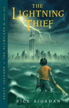 Percy Jackson and the Olympians. The Lightning Thief. Book One. Book Cover
