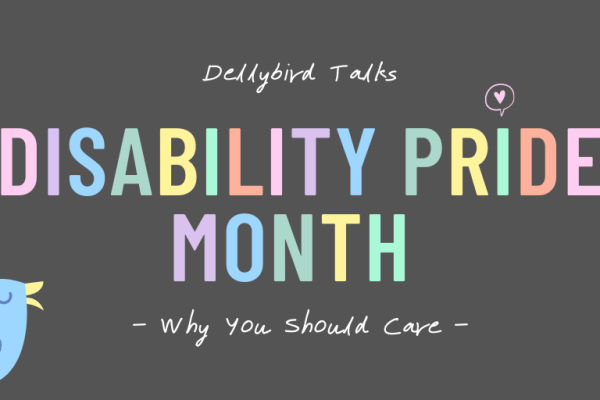 Disability Pride Month Blog Post Cover Image