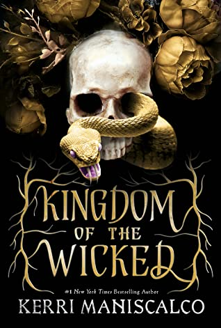 Kingdom of the Wicked book cover. October 2020 book releases.