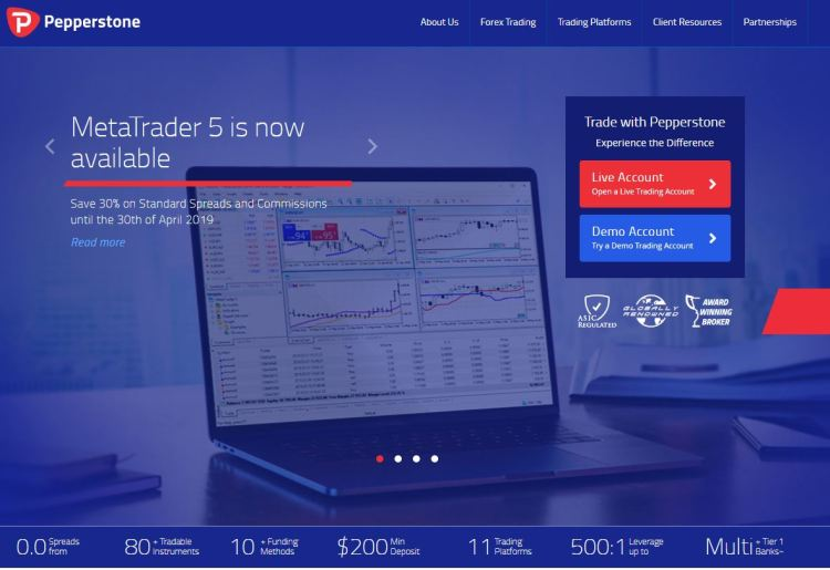 pepperstone 1024x703 - 8 of the Very Best Forex Brokers