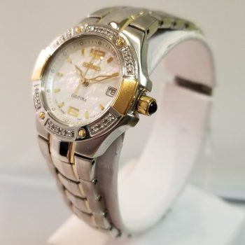 Seiko Ladies Diamond Bezel