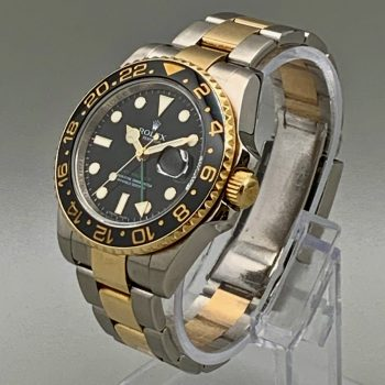 Rolex GMT II Yellow Gold & Stainless Steel