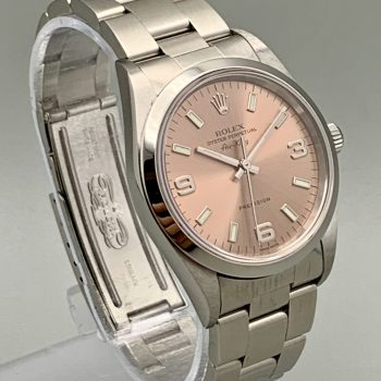 Rolex Airking Chocolate Dial