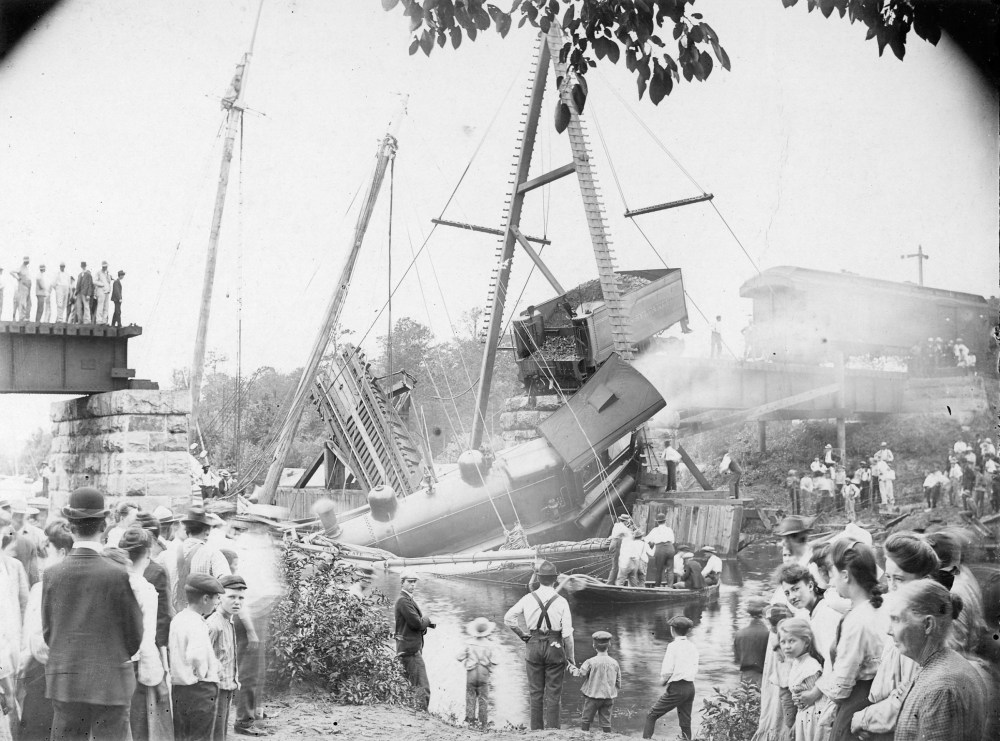 Terrible Railroad Calamity at the C & D Canal Drawbridge