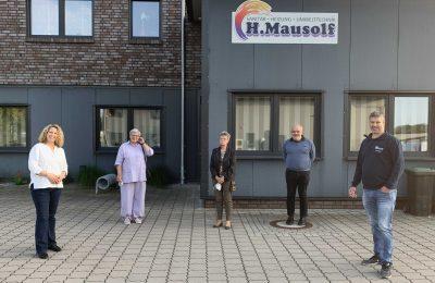 Besuch bei der Fa. Mausolf