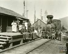 Train & Crew, Camp 5, Fort Dick