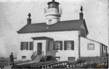 Battery Point Lighthouse, 1900's