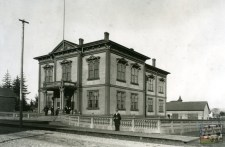 Del Norte County Courthouse, Build in 1880, burned down in 1948