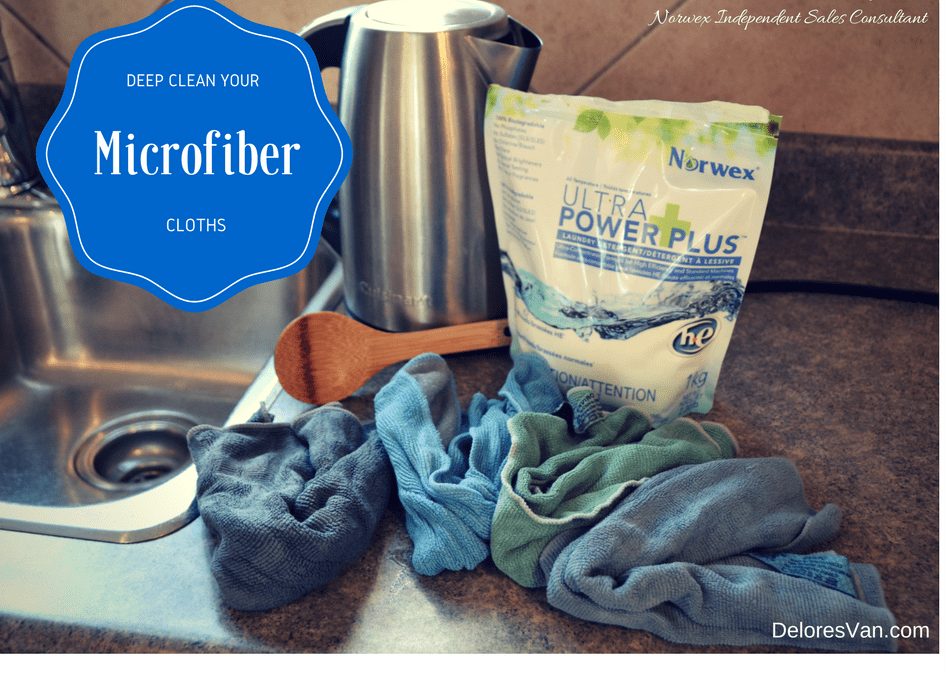 How To Deep Clean Your Norwex Microfiber Cloths