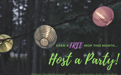 Another FREE Norwex Mop Month for Hosts!