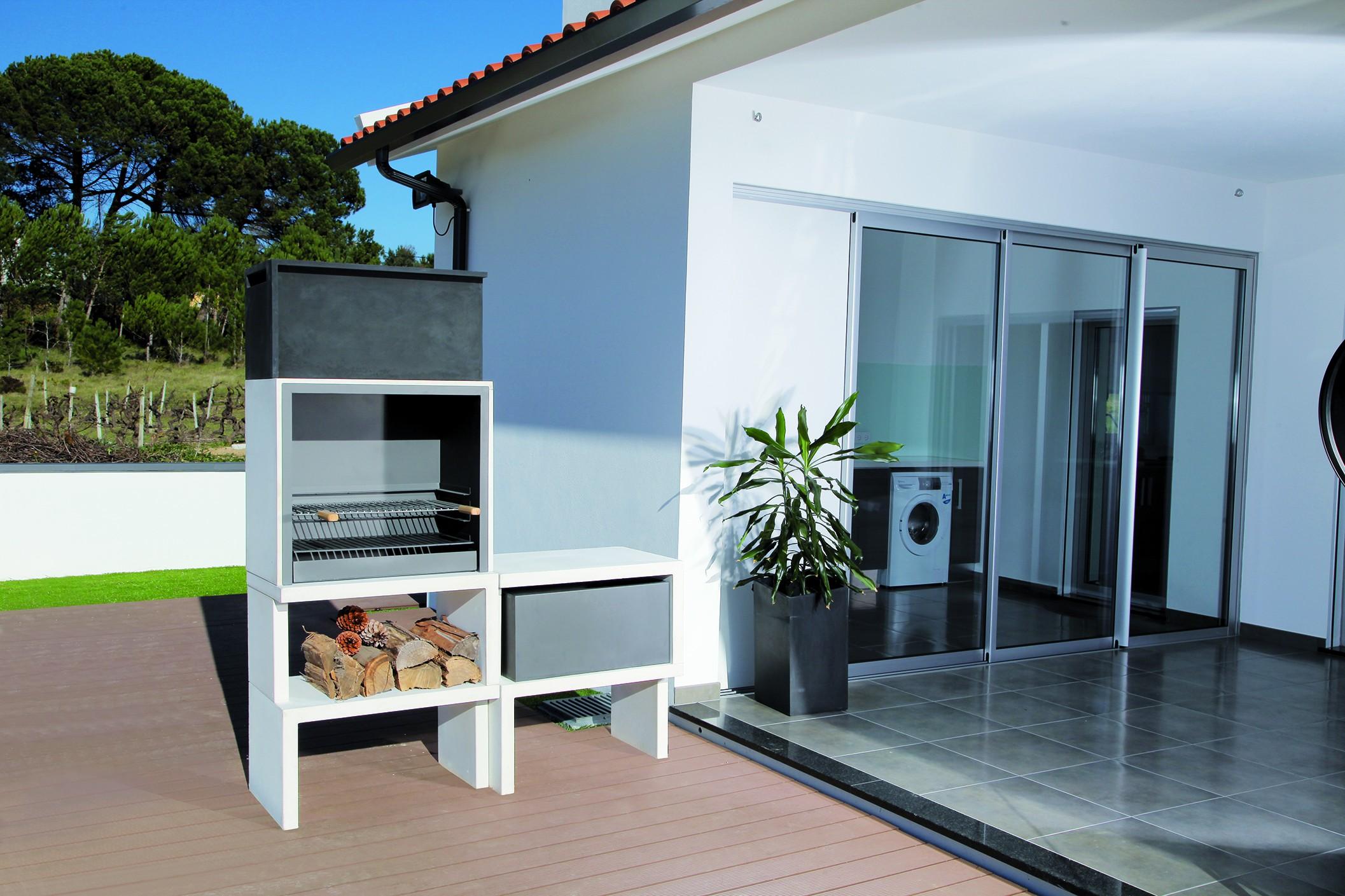 LIV 03 Barbecue Design En Bton