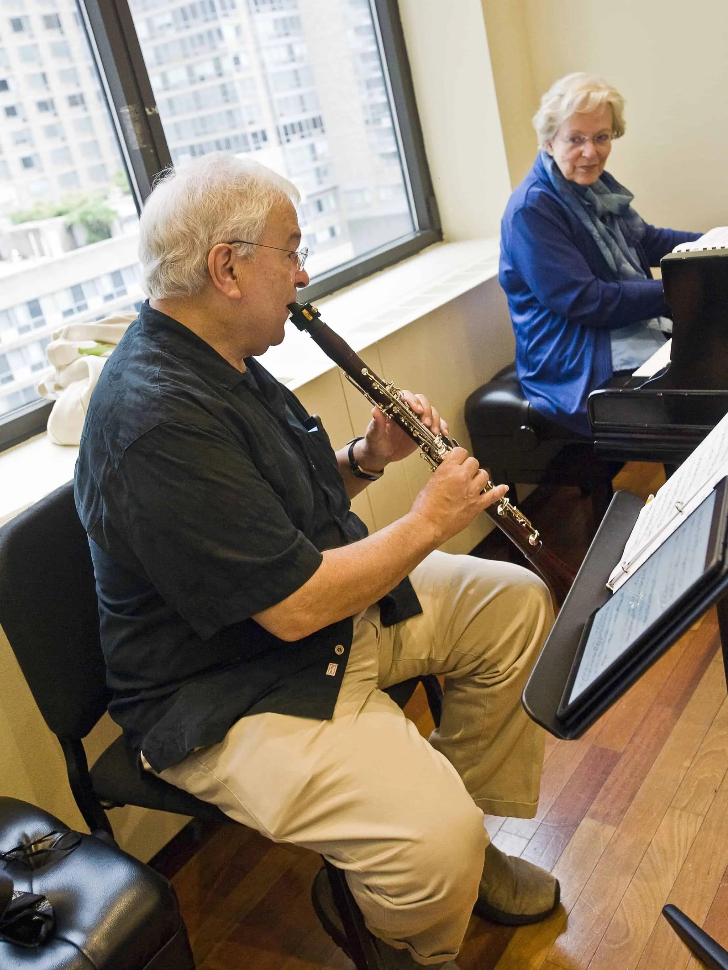David Shifrin and Carol Rosenberger