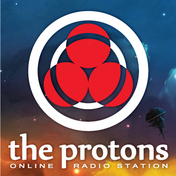 Дизайн аватара для радио «the protons»