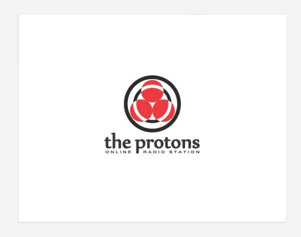 Логотип для радио «The Protons»