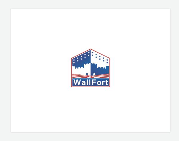 Логотип для американского сайдинга «WallFort»